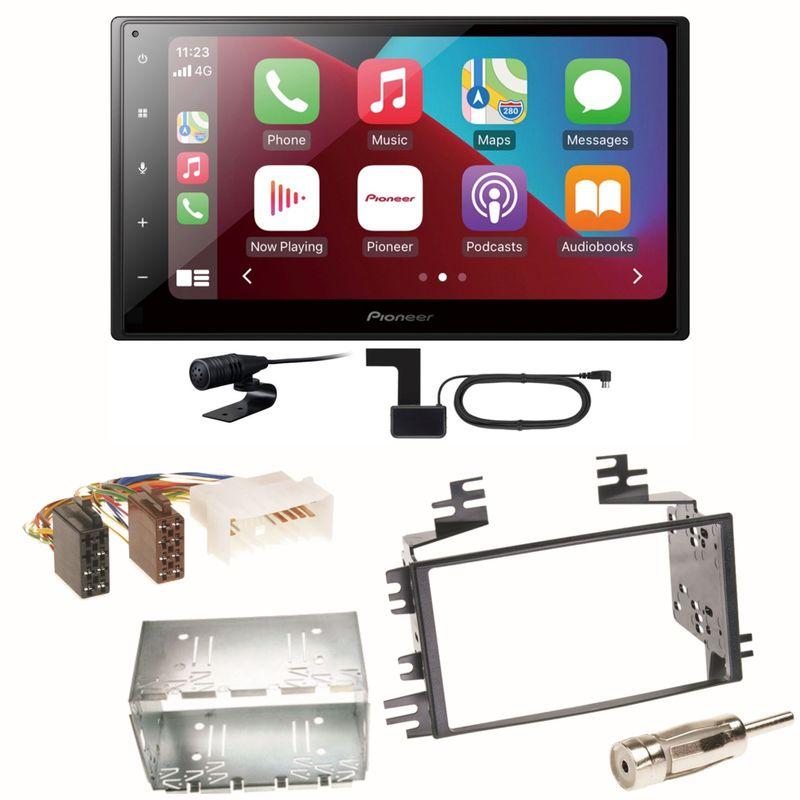 Pioneer SPH-DA160DAB Android Auto CarPlay Einbauset für Kia Sportage JE Rio JB