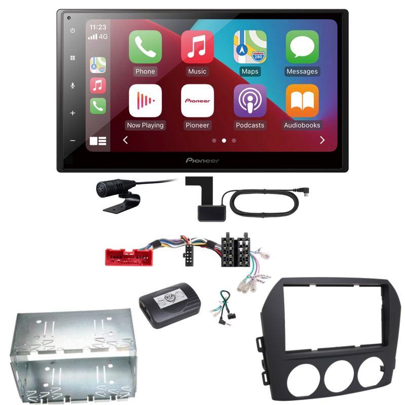 Pioneer SPH-DA160DAB Android Auto CarPlay Einbauset für Mazda MX-5 NC