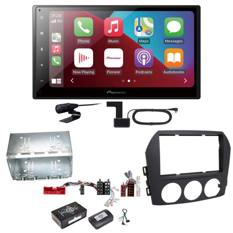 Pioneer SPH-DA160DAB Android Auto CarPlay Einbauset für Mazda MX-5 NC FL