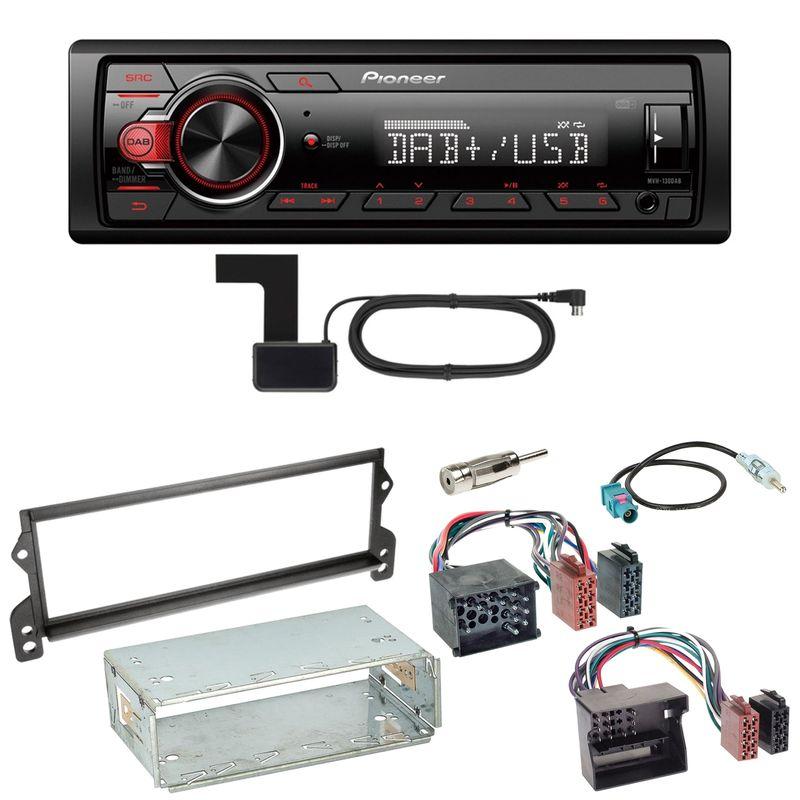 Pioneer MVH-130DAB Digitalradio USB Einbauset für MINI R50 R52 R53
