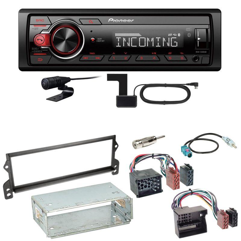 Pioneer MVH-330DAB Bluetooth Digitalradio Einbauset für MINI R50 R52 R53