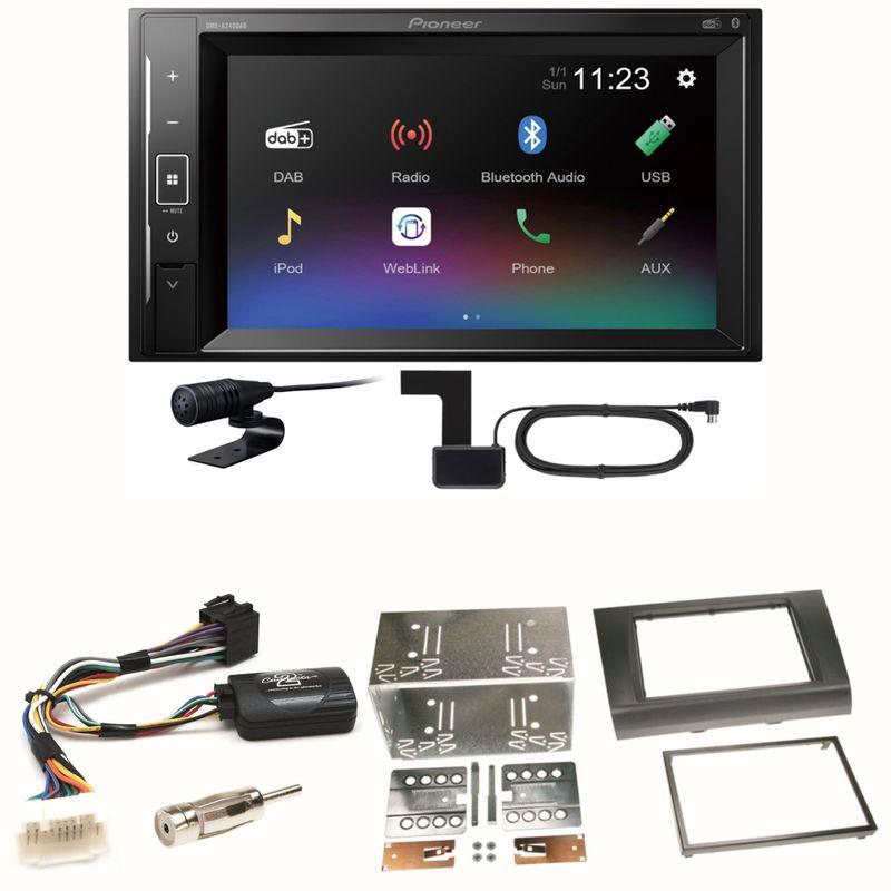 Pioneer DMH-A240DAB DAB+ Bluetooth Einbauset für Suzuki Swift Sport EZ MZ