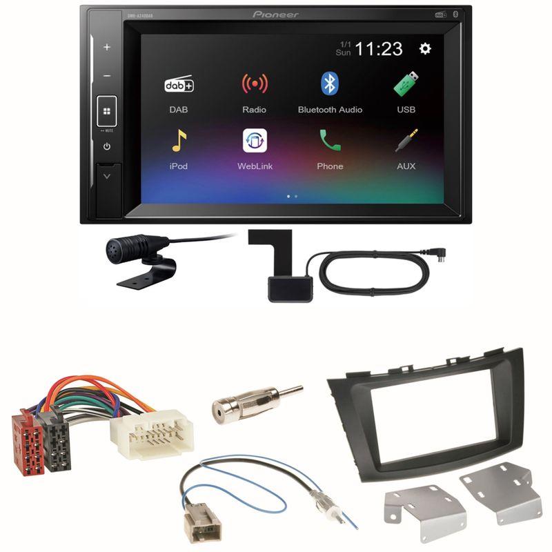 Pioneer DMH-A240DAB DAB+ Bluetooth Einbauset für Suzuki Swift Sport FZ NZ