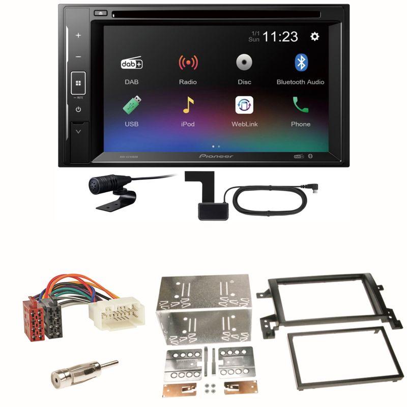 Pioneer AVH-A240DAB Digitalradio Bluetooth Einbauset für Suzuki Grand Vitara JT