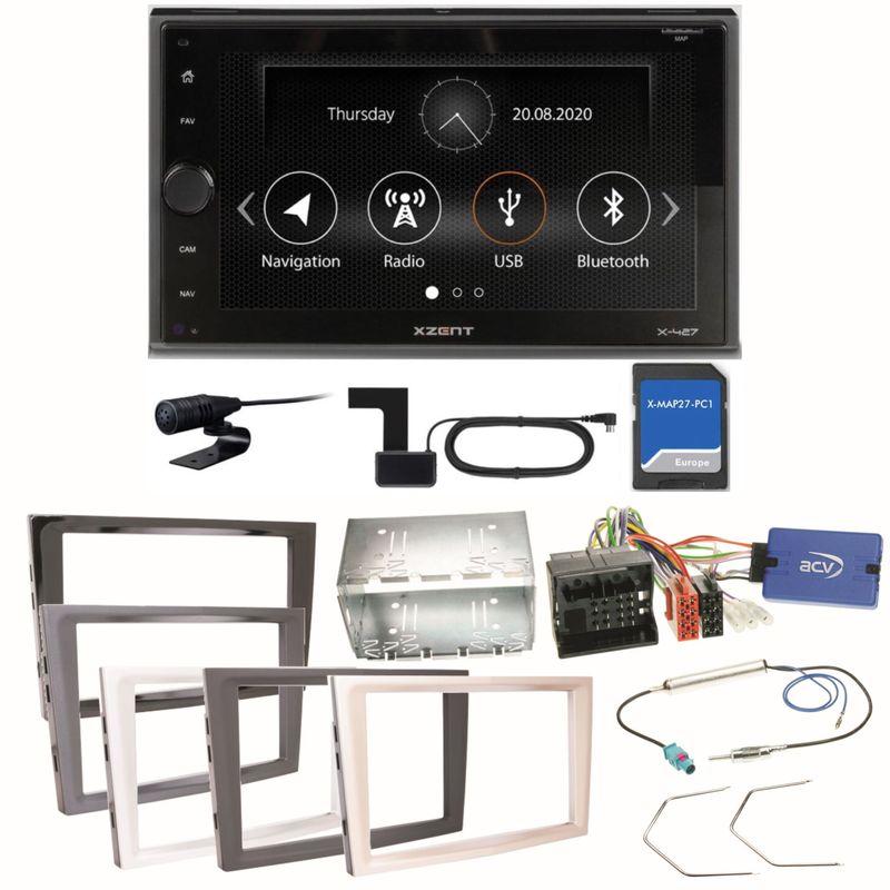 XZENT X-427 Digitalradio USB Einbauset für Opel Astra H Corsa D Zafira B Antara