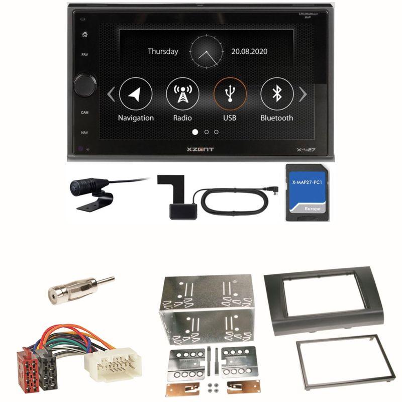 XZENT X-427 Digitalradio PKW Navigation Einbauset für Suzuki Swift Sport EZ MZ