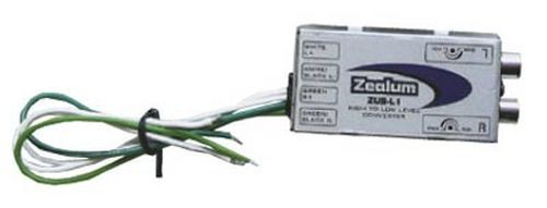 ZEALUM ZUS-L1 High Low Level Adapter Converter Cinch