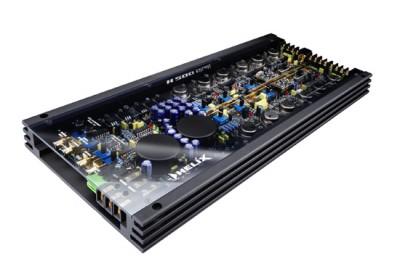 HELIX H 500  5-Kanal-Endstufe 4x50/100 + 1x 150/300 Watt