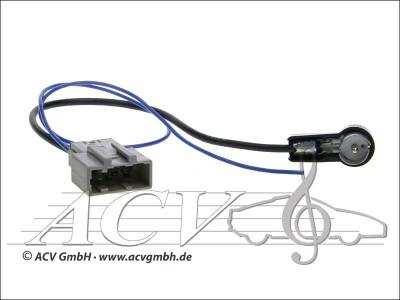 Nissan Navara Pathfinder Qashqai X-Trail Tiida Antennenadapter GT13->ISO
