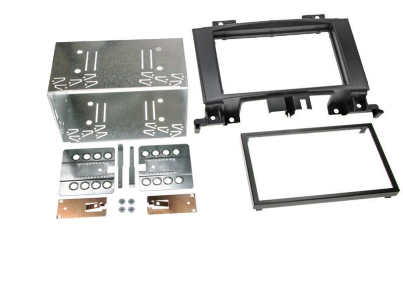 Radioblende 2-DIN für Mercedes Sprinter Crafter Einbaurahmen Radiohalterung DIN