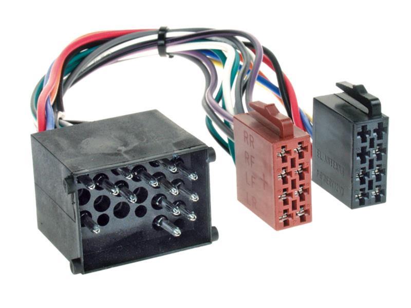 Radioanschlusskabel ISO passend für BMW Rover Land Rover