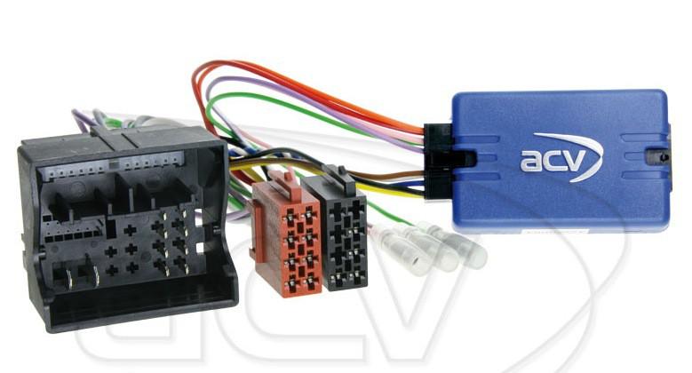 Lenkradfernbedienungsadapter Audi A1 für ZENEC / Xzent