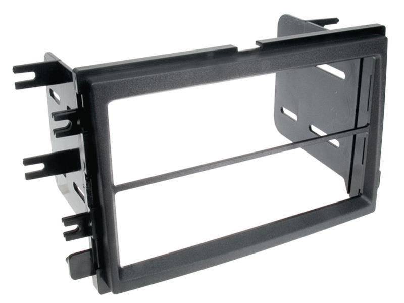 2 din radioblende ford mustang einbaurahmen radiohalterung. Black Bedroom Furniture Sets. Home Design Ideas