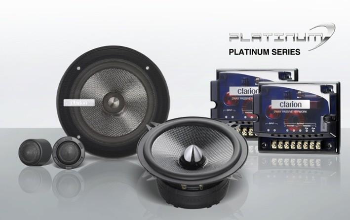 Clarion SRP1323S 13 cm 2-Wege Komponenten System Lautsprecher 130 mm SRP 1323S