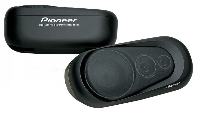 Pioneer TS-X150 Aufbaulautsprecher 3 Wege 4 Ohm 60 Watt Aufbau Lautsprecher