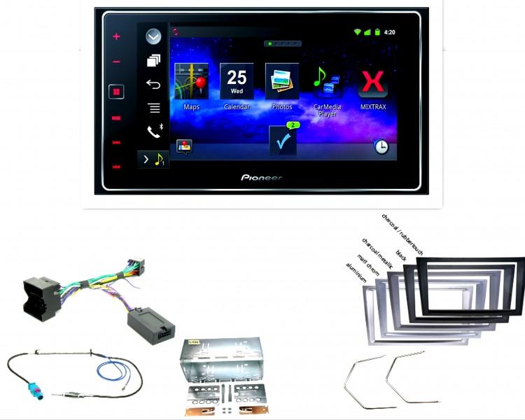 pioneer sph da120 appradio bluetooth usb einbauset f r. Black Bedroom Furniture Sets. Home Design Ideas