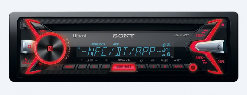sony mex n5100bt usb cd mp3 autoradio mit bluetooth. Black Bedroom Furniture Sets. Home Design Ideas