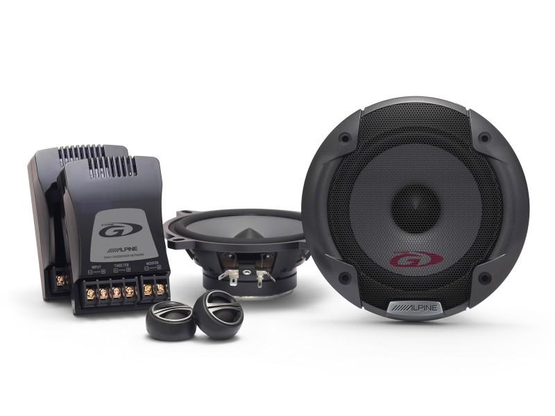 ALPINE SPG-13CS 13 cm 2-Wege Komponenten System Lautsprecher 130 mm