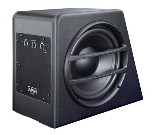axton axb25a aktiv subwoofer 25 cm mit integriertem verst rker subwoofer geh use subwoofer. Black Bedroom Furniture Sets. Home Design Ideas