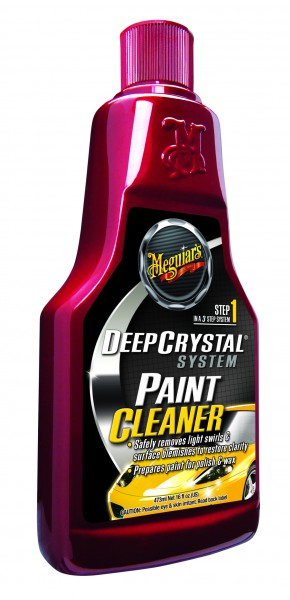 Meguiar´s Deep Crystal Paint Cleaner Step 1 –A3016 473ml Lackreiniger