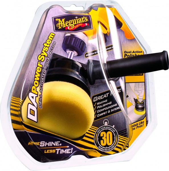 Meguiar´s Dual Action Power System– G3500INT exzenter Poliermaschine Aufsatz