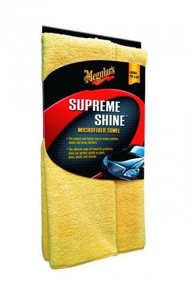Meguiar`s Supreme Shine Microfiber X2010 Mikrofasertuch Maschinenwaschbar