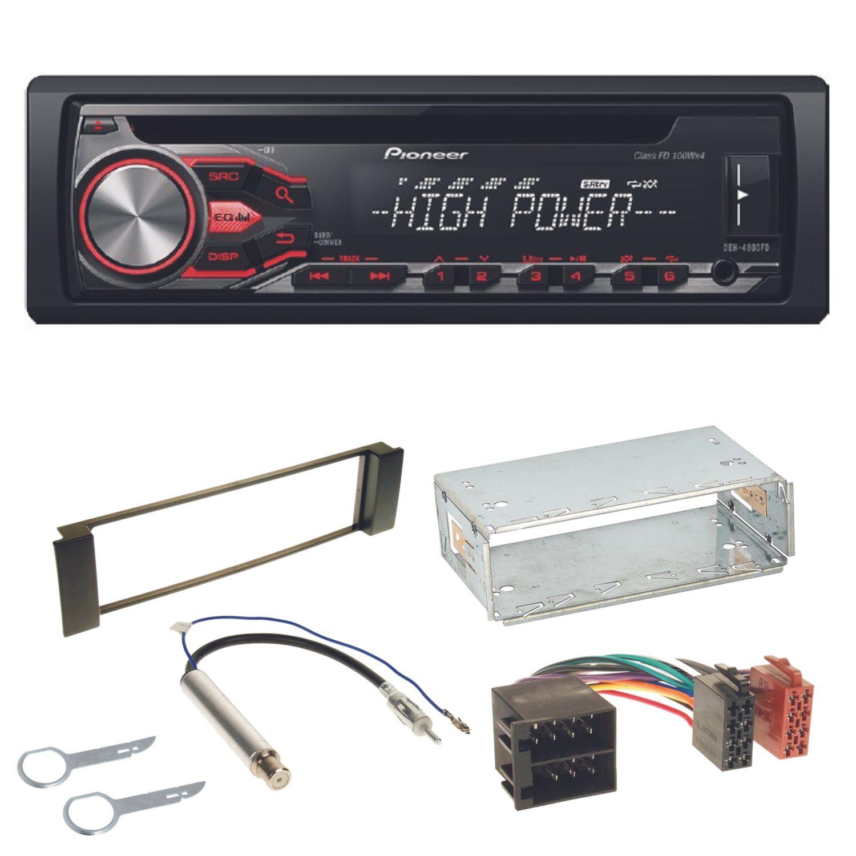 Pioneer deh 4800fd autoradio usb mp3 ipod cd einbauset f r for Mueble 2 din seat leon 1m