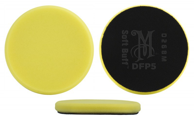 Meguiar´s Soft Buff Foam Polishing Pad –DFP6 150 mm Polierschwamm Polierpad