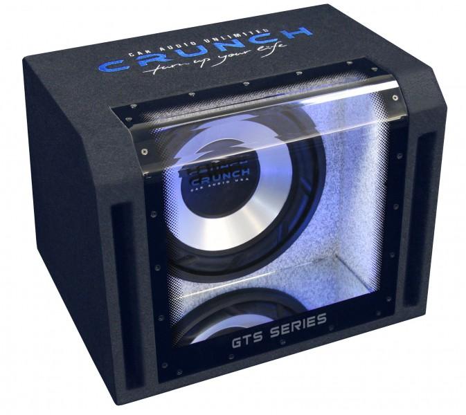 Crunch GTS-400 Single Bandpass Subwoofer Kiste 30 cm 800 Watt max GTS 400