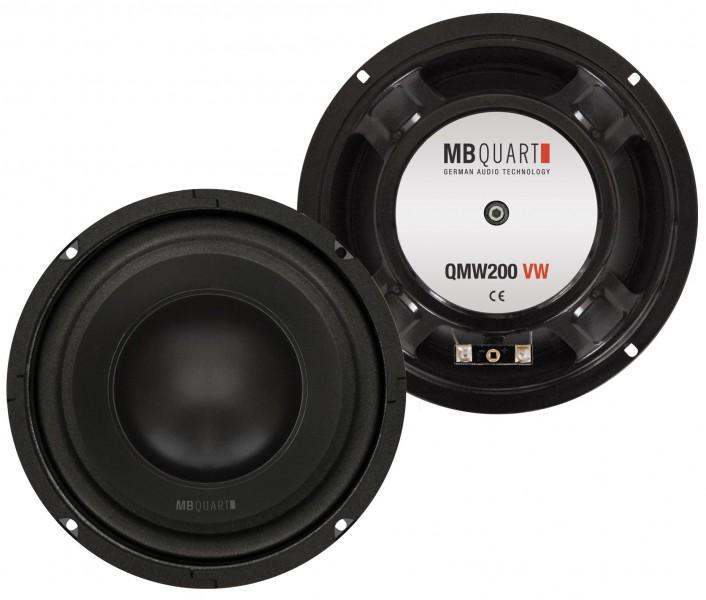 MB QUART QMW-200 Subwoofer Kickbass für Golf 4 Golf 5 Passat Bora Woofer 20 cm
