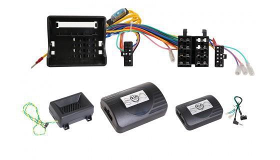 BMW CAN Bus Lenkradfernbedienungsadapter mit Warnsignalen und PDC für Clarion
