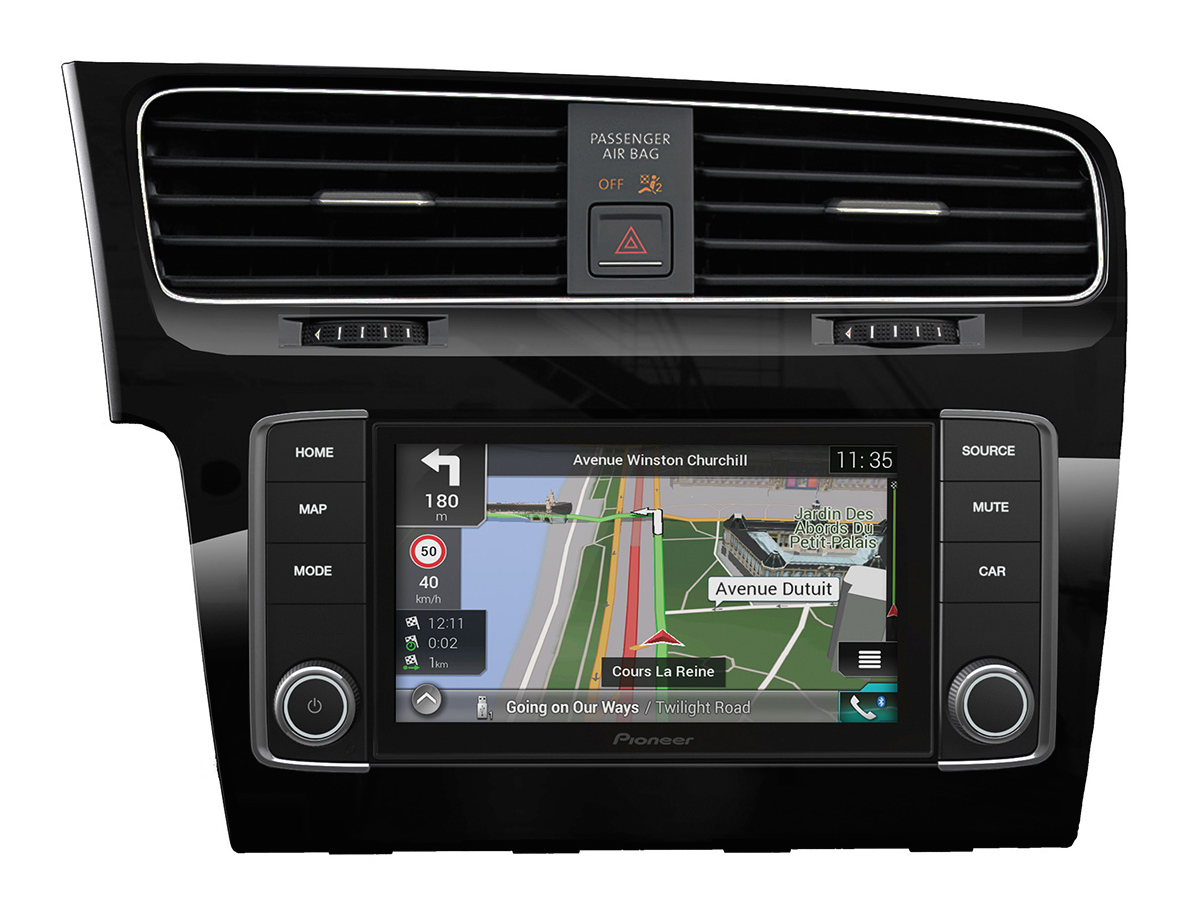 pioneer navgate evo navigation f r golf 7 dab carplay. Black Bedroom Furniture Sets. Home Design Ideas