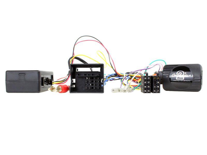 Lenkradfernbedienungsadapter für Mercedes A B C CLK W169 W203 W209 W245 auf JVC