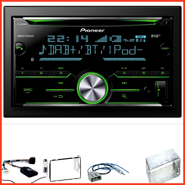 pioneer fh x840dab usb bluetooth mp3 dab cd einbauset f r. Black Bedroom Furniture Sets. Home Design Ideas