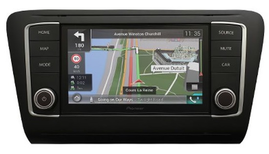 PIONEER Navgate EVO Skoda Octavia 3 5E Navigation DAB+ CarPlay Android Auto USB