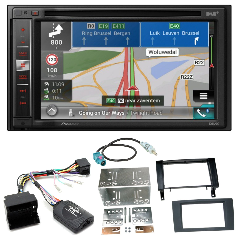 Wonderbaarlijk Pioneer AVIC-F980DAB Navi Bluetooth DAB Einbauset für Mercedes SLK DG-03