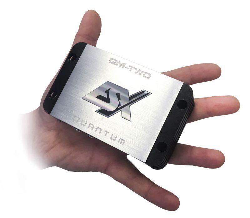 ESX QUANTUM QM-TWO 2 Kanal Digital Mini Verstärker Endstufe Ultra kompakt