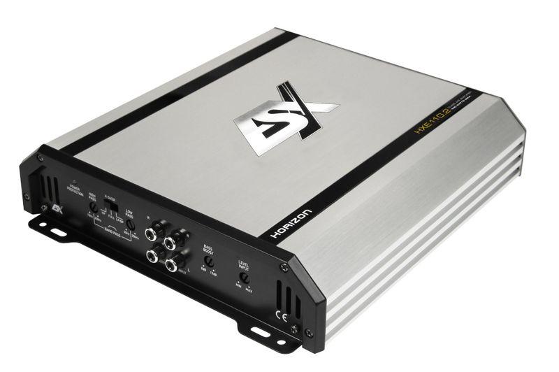 ESX HORIZON HXE110.2 2 Kanal Verstärker Endstufe 2 x 110 Watt RMS an 2 Ohm