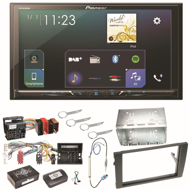 pioneer sph da230dab carplay android auto einbauset f r. Black Bedroom Furniture Sets. Home Design Ideas
