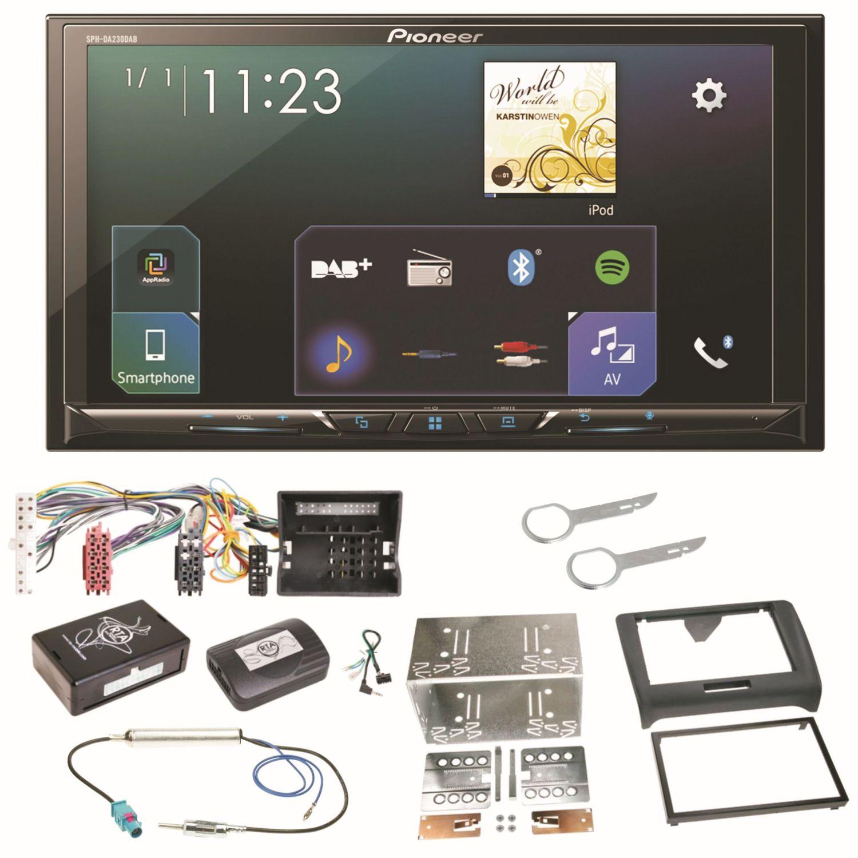 Pioneer Sph Da230dab Bluetooth Carplay Android Auto Einbauset Fur