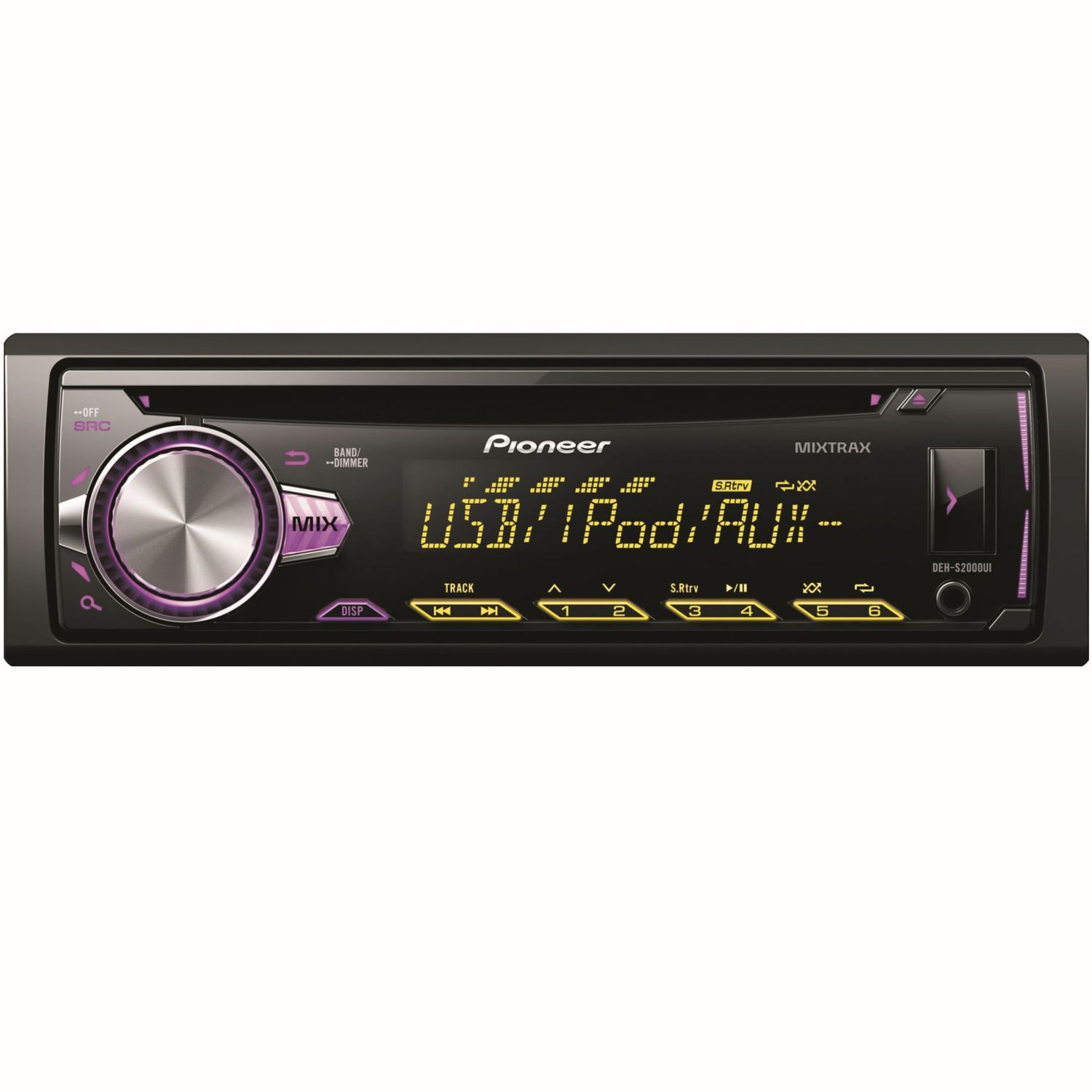 pioneer deh s2000ui cd mp3 usb autoradio ipod iphone. Black Bedroom Furniture Sets. Home Design Ideas