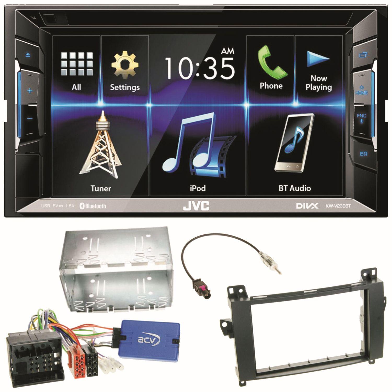 JVC KW-V230BT Autoradio Bluetooth Einbauset für Mercedes A W169 B ...