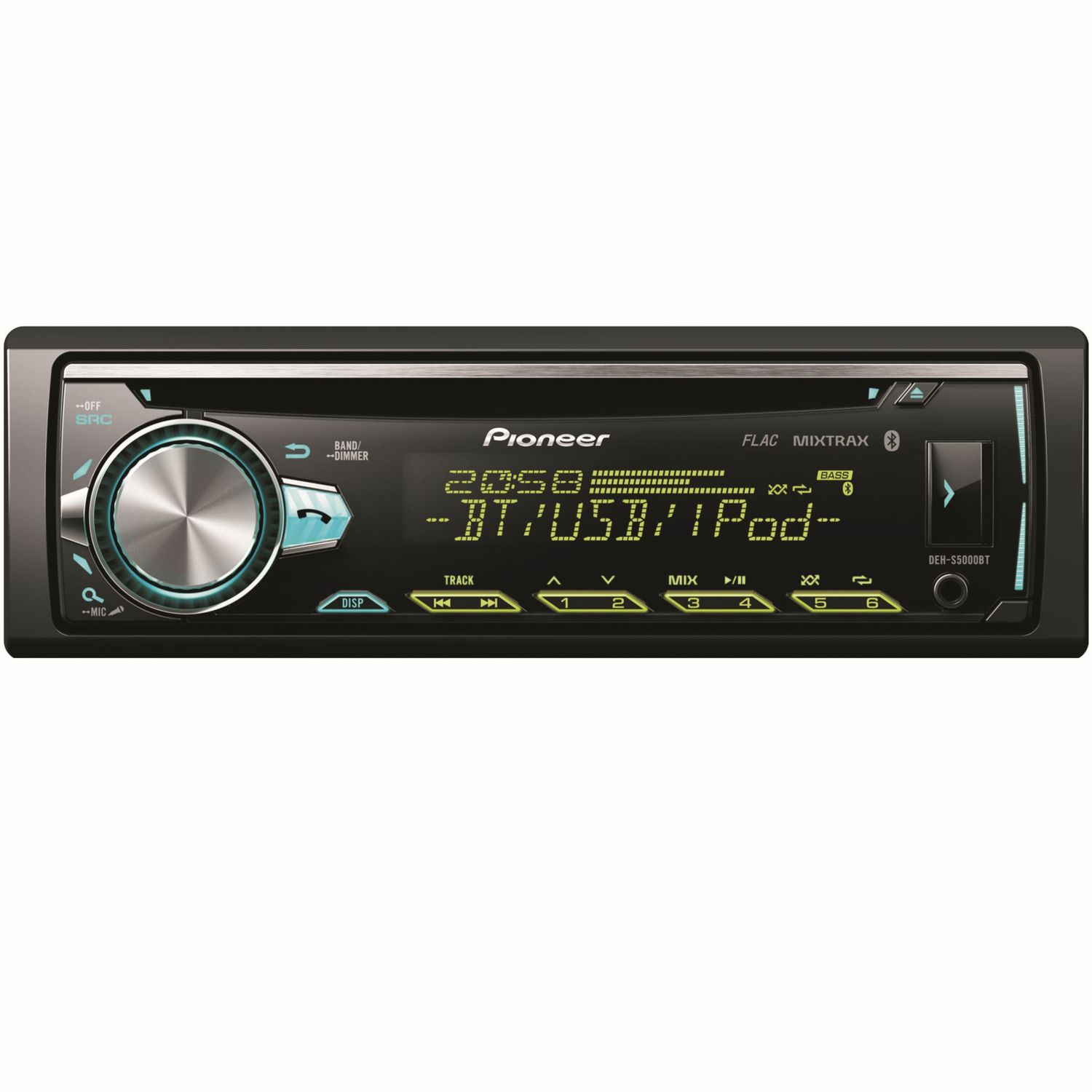 pioneer deh s5000bt cd mp3 usb aux autoradio mit bluetooth. Black Bedroom Furniture Sets. Home Design Ideas