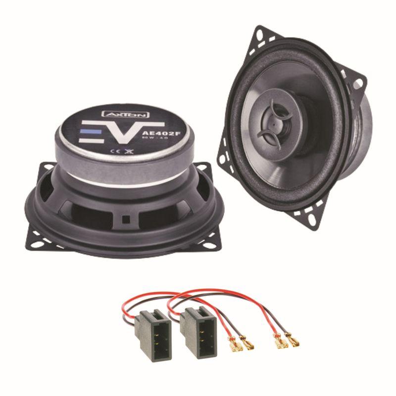 Axton AE402F Lautsprecher Boxen Einbauset für Citroen C1 Toyota Aygo Peugeot 107
