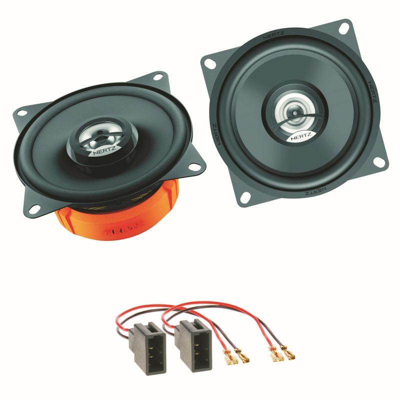 Hertz DCX 100.3 Lautsprecher Einbauset für Citroen C1 Toyota Aygo Peugeot 107