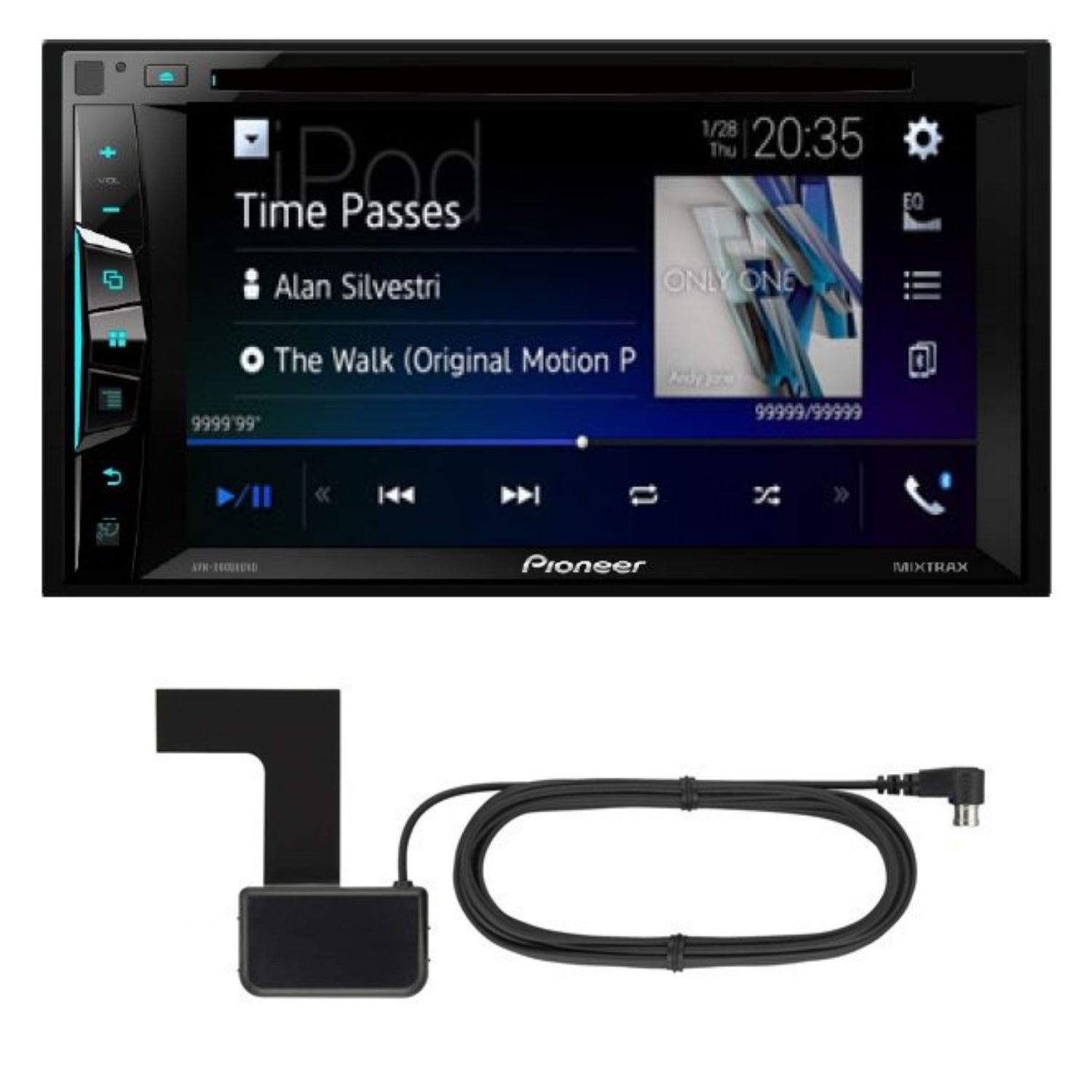 pioneer avh a3100dab usb mp3 dvd bluetooth digitalradio. Black Bedroom Furniture Sets. Home Design Ideas