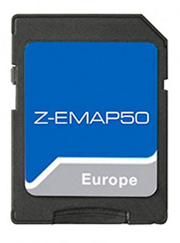 Zenec Z-EMAP50 Navigationssoftware für Z-E2050 Z-E6150 Z-E2060 Z-E3150