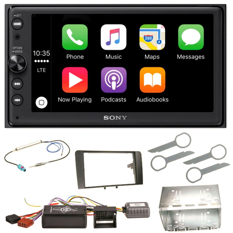 sony xav ax100 bluetooth usb android auto carplay. Black Bedroom Furniture Sets. Home Design Ideas