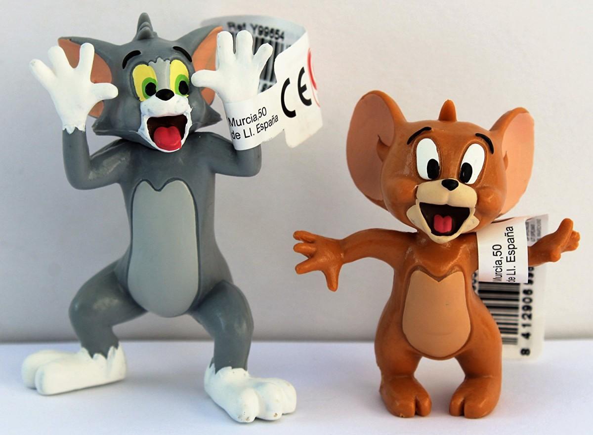 Comansi Sammel Und Spielfiguren Tom Und Jerry Lachend Dl Handel
