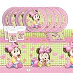 Disney Baby Minnie Mouse 53 Teile Party Deko Set